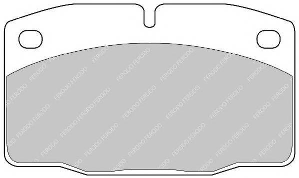 Тормозные колодки Тормозные колодки  Nexia 1.5 95-97 Ferodo PAGID арт. FSL173