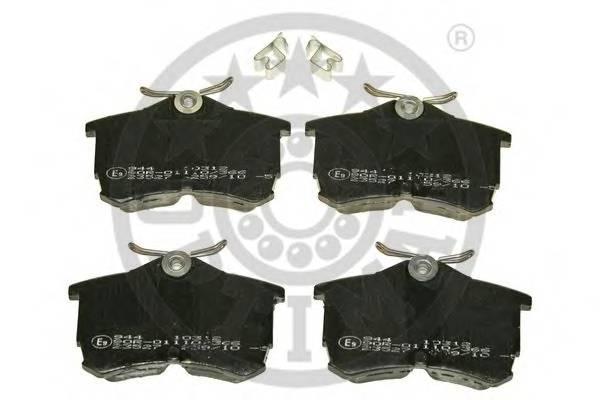 Тормозные колодки Тормозные колодки PAGID арт. 10312