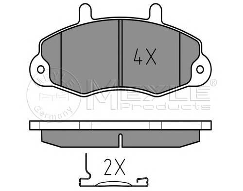 Тормозные колодки Тормозные колодки дисковые PAGID арт. 0252147018