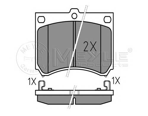 Тормозные колодки Тормозные колодки дисковые PAGID арт. 0252153915