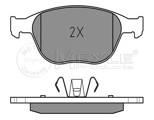 Тормозные колодки Тормозные колодки дисковые PAGID арт. 0252344017