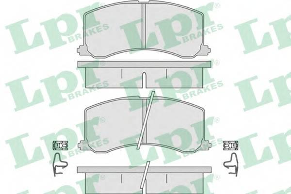Тормозные колодки Тормозные колодки ABE арт. 05P665