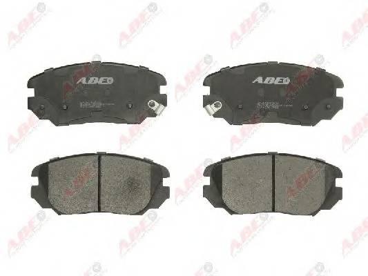 Гальмівні колодки, дискові ABE арт. C10517ABE