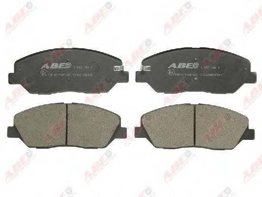 Гальмівні колодки, дискові ABE арт. C10521ABE