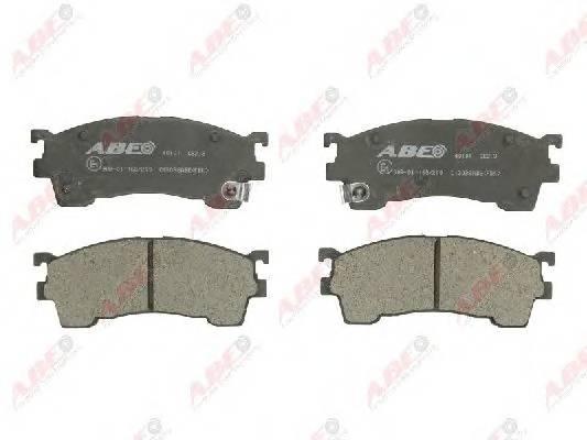 Гальмівні колодки, дискові ABE арт. C13038ABE
