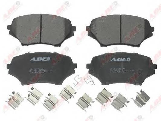 Гальмівні колодки, дискові ABE арт. C13059ABE