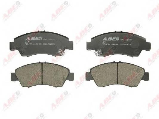 Гальмівні колодки, дискові ABE арт. C14034ABE