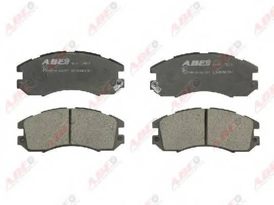Гальмівні колодки, дискові ABE арт. C17005ABE
