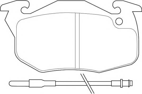 Тормозные колодки Тормозные колодки Wagner WAGNER арт. WBP20905A