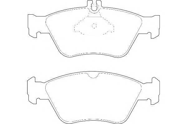 Тормозные колодки Тормозные колодки Wagner PAGID арт. WBP21664A