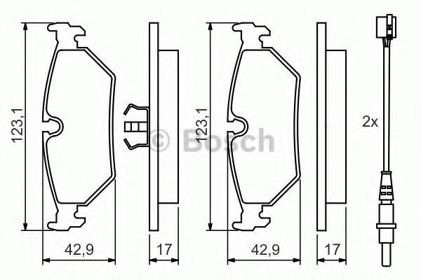 Тормозные колодки Тормозные колодки дисковые PAGID арт. 0986424027