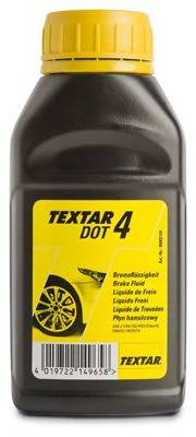 Тормозная жидкость 0.250л (DOT 4) TEXTAR TEXTAR 95002100