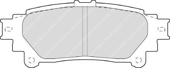 Тормозные колодки Тормозные колодки Ferodo PAGID арт. FDB4395