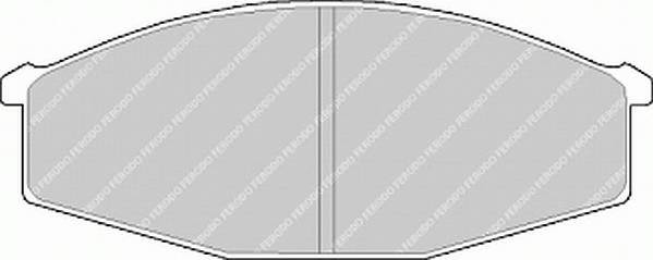 Тормозные колодки Тормозные колодки Ferodo PAGID арт. FDB643