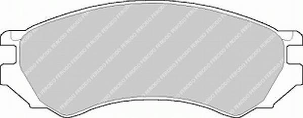 Тормозные колодки Тормозные колодки Ferodo ABE арт. FDB667