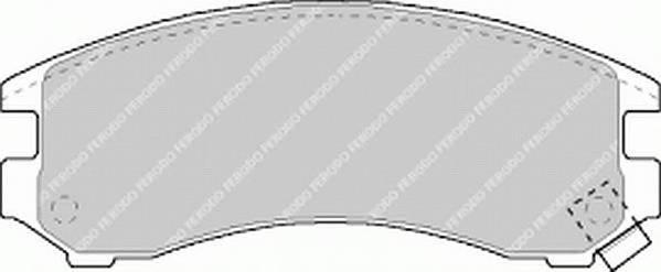 Тормозные колодки Тормозные колодки Ferodo PAGID арт. FDB780