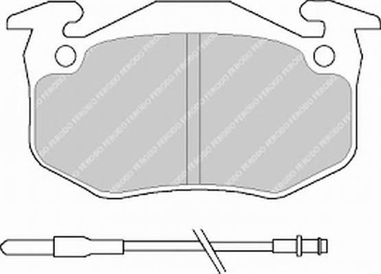 Тормозные колодки Тормозные колодки Ferodo ABE арт. FSL440