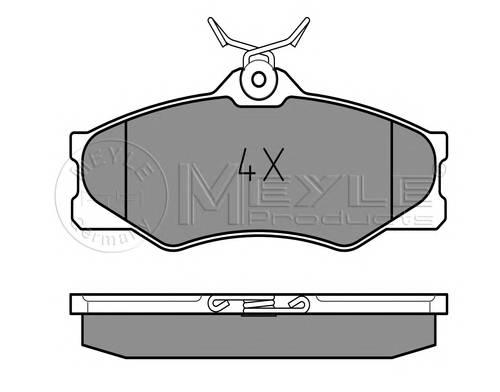 Тормозные колодки Тормозные колодки дисковые PAGID арт. 0252097919