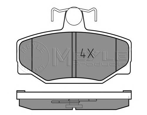 Тормозные колодки Тормозные колодки дисковые MEYLE арт. 0252138513
