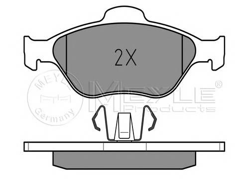 Тормозные колодки Тормозные колодки дисковые PAGID арт. 0252360418