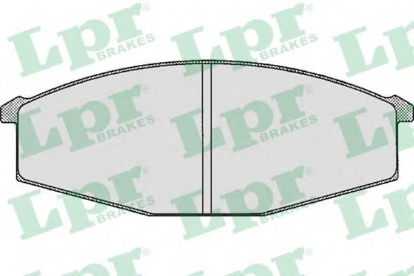 Тормозные колодки Тормозные колодки дисковые PAGID арт. 05P289