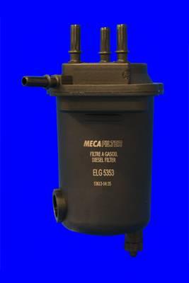 фильтр топливный (под датчик но без датчика) MECAFILTER ELG5353