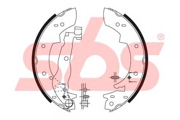 Тормозная система Гальмiвнi колодки, к-кт. PAGID арт. 18492799447