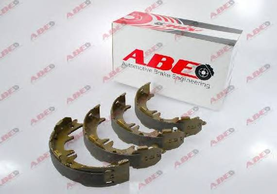 Тормозные колодки Гальмівні колодки, барабанні ABE арт. C02077ABE