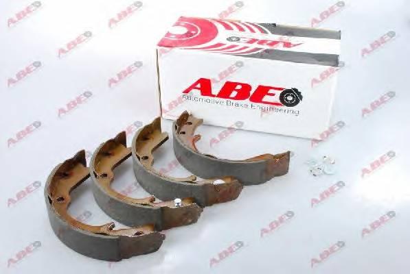 Тормозные колодки Гальмівні колодки, барабанні ABE арт. C07012ABE