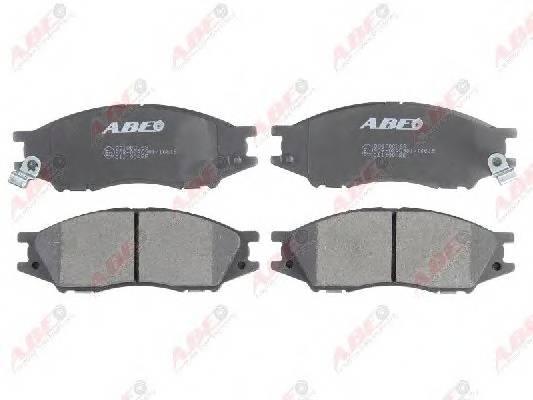 Гальмівні колодки, дискові ABE арт. C11100ABE