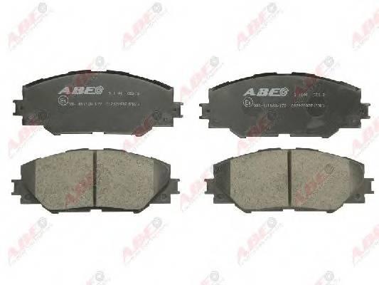 Гальмівні колодки, дискові ABE арт. C12122ABE