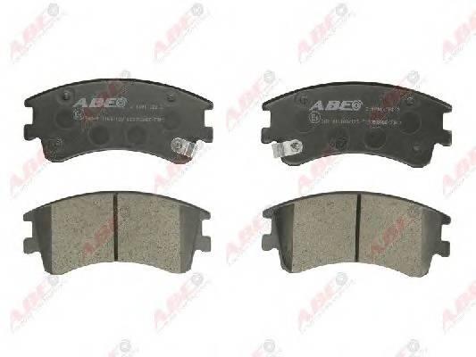 Гальмівні колодки, дискові ABE арт. C13052ABE