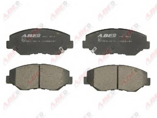 Гальмівні колодки, дискові ABE арт. C14049ABE