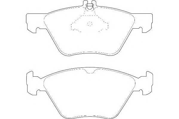 Тормозные колодки Тормозные колодки Wagner PAGID арт. WBP21670A