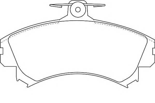 Тормозные колодки Тормозные колодки Wagner PAGID арт. WBP21920A
