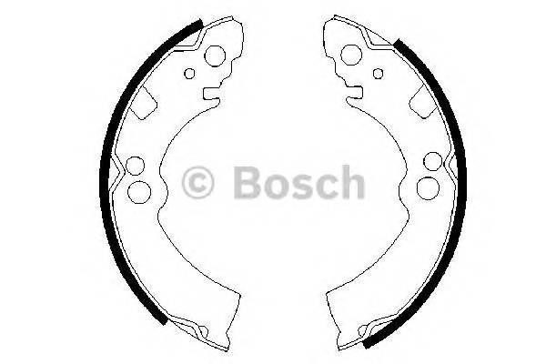 Тормозные колодки Тормозные колодки BOSCH арт. 0986487235