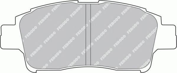 Тормозные колодки Тормозные колодки Ferodo ABE арт. FDB1368