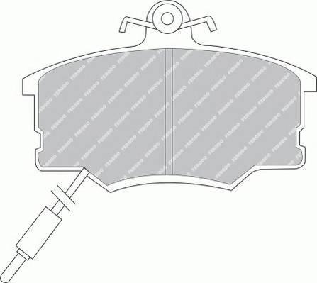 Тормозные колодки Тормозные колодки Ferodo PAGID арт. FDB410