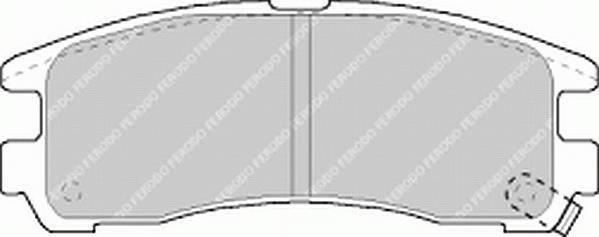 Тормозные колодки Тормозные колодки Ferodo PAGID арт. FDB803