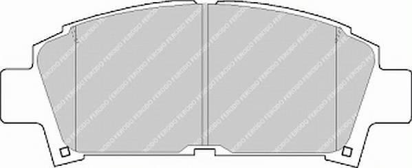 Тормозные колодки Тормозные колодки Ferodo PAGID арт. FDB928