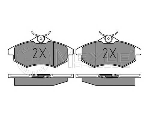 Тормозные колодки Тормозные колодки дисковые PAGID арт. 0252340719