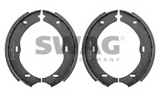 Тормозные колодки Тормозные колодки барабанные MB VITO W639 SWAG арт. 10938531