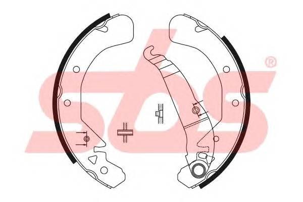 Тормозная система Гальмiвнi колодки, к-кт. PAGID арт. 18492736589