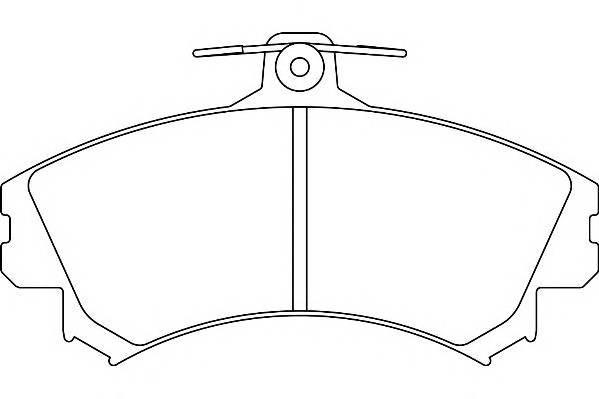 Тормозные колодки Тормозные колодки Wagner PAGID арт. WBP21796A