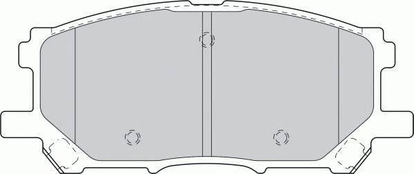 Тормозные колодки Тормозные колодки Ferodo PAGID арт. FDB1715