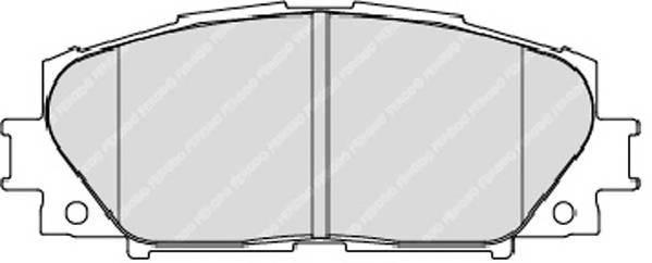 Тормозные колодки Тормозные колодки дисковые ABE арт. FDB1829