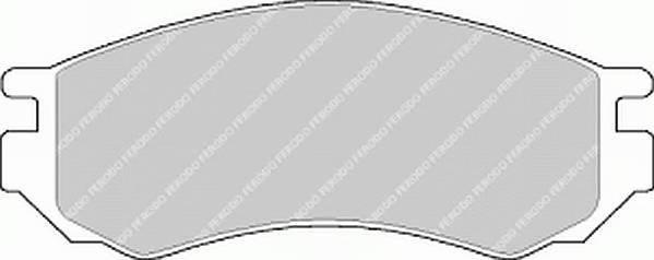 Тормозные колодки Тормозные колодки Ferodo PAGID арт. FDB788