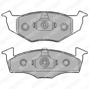 Гальмівні колодки, дискові PAGID арт. LP1249