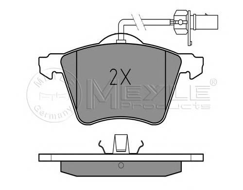 Тормозные колодки Тормозные колодки дисковые VW T4 PAGID арт. 0252103419W