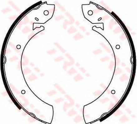 Тормозные колодки Тормозные колодки барабанные ABE арт. GS6181